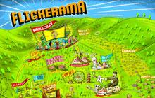 Flickerama Film Festival Illustrated Map